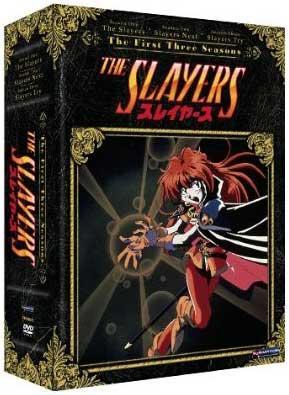 Slayers Seasons 1-3 Box Set