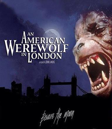 An American Werewolf in London/En amerikansk varulv.. (Blu-Ray)