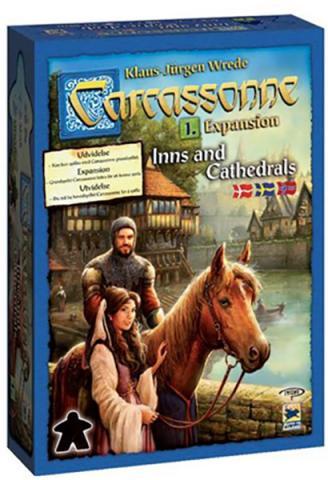 Carcassonne expansion 1 - Inns & Cathedrals (svensk)