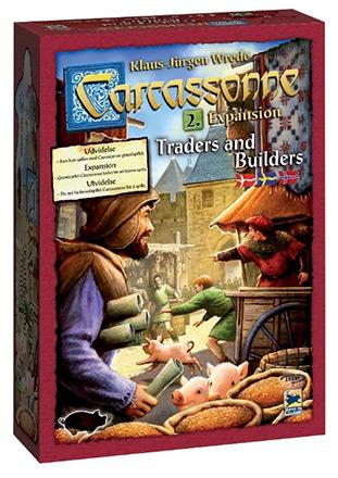 Carcassonne expansion 2 - Traders & Builders (svensk)