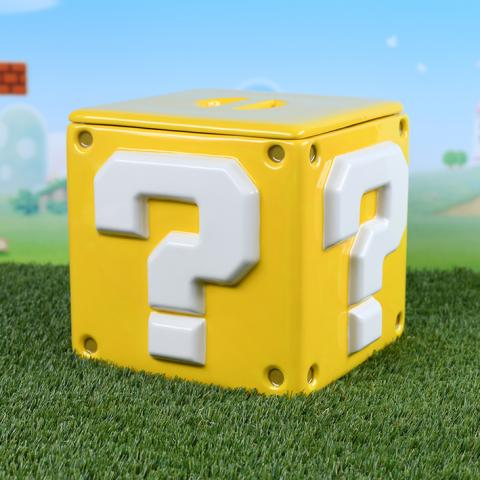 Super Mario Storage Jar Question Mark Block