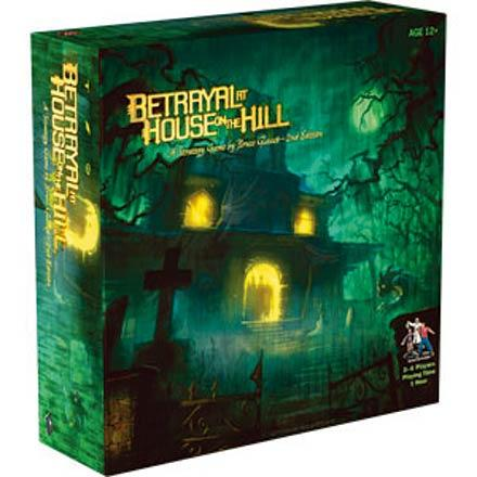 Betrayal at House on the Hill 2nd Edition