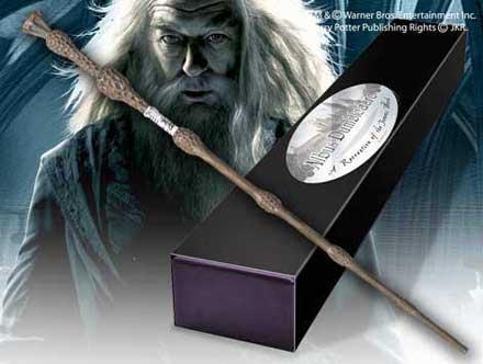 Professor Dumbledore Boxed Replica Wand (Character Edition)