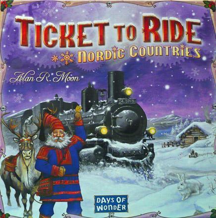 Ticket to Ride - Nordic Countries (Skandinavisk utgåva)