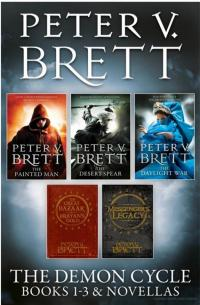 Demon Cycle Books 1-3 and Novellas