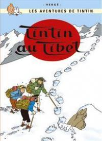Affisch - Tintin au Tibet
