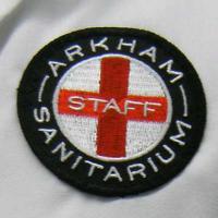 Arkham Sanitarium Staff Patch