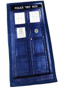 Tardis Cotton Beach Towel