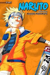 Naruto 3-in-1 Vol 4