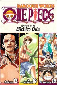 One Piece: Baroque Works 13-14-15