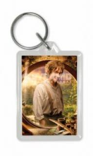 The Hobbit Keychain Bilbo Door
