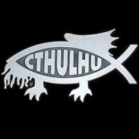 Cthulhu fish bumper thingy