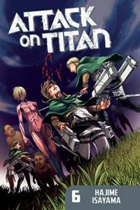Attack on Titan vol 6