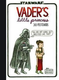 Vader's Little Princess Postcard Book