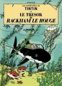 Affisch - Le tresor de Rackham le Rouge