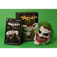Batman Vol 3: Death of the Family Book and Joker Mask Set