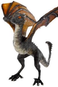 Game of Thrones Sculpture Drogon Baby Dragon 12 cm