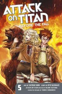 Attack on Titan Before the Fall 5