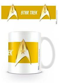 Star Trek Command Gold Mug