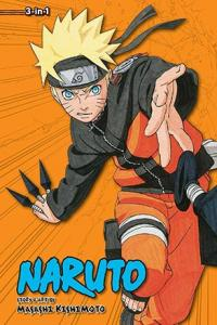 Naruto 3-in-1 Vol 10
