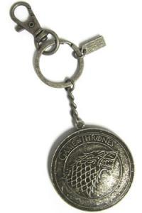 Game of Thrones Metal Keychain Stark