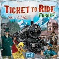 Ticket to Ride - Europe (Amerikansk utgåva)