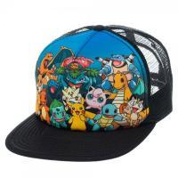 Cap: Pokemon - Group Sublimated Snapback