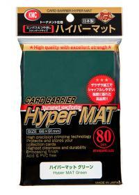 Trading card sleeve 80 Hyper Matte Green