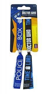 Doctor Who Call Box Festival Wristbands
