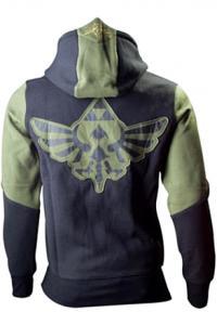 Legend of Zelda Hooded Sweater Green Character