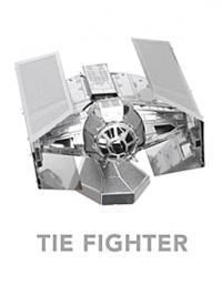 MetalEarth Darth Vader's Tie-Fighter 3D Metal Model Kit