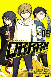 Durarara Yellow Scarves Vol 3