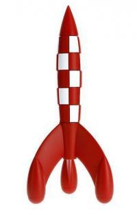 Figur PVC Raket 17cm