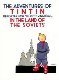 Affisch - Tintin au Soviets