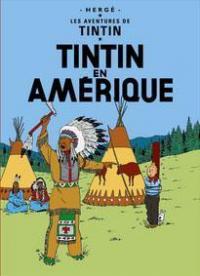 Affisch - Tintin an Amerique