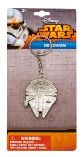 Star Wars Metal Keychain Millennium Falcon