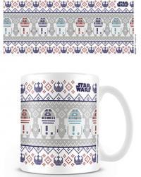 Star Wars R2D2 Xmas Mug