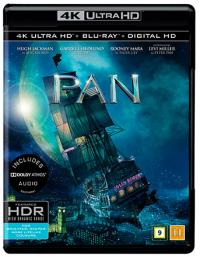 Pan (2015, 4K Ultra HD+Blu-ray)