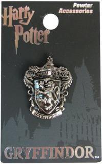 Gryffindor Crest Pewter Lapel Pin