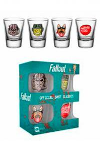 Fallout 4 Shotglass 4-Pack Icons