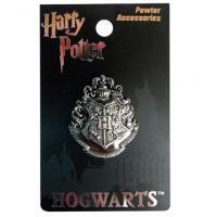 Hogwarts School Crest Pewter Lapel Pin