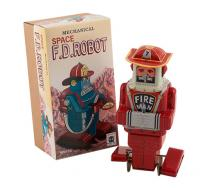 Plåtleksak Fire Robot