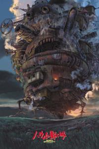 Howl's Moving Castle pussel 243, 1000 bitar