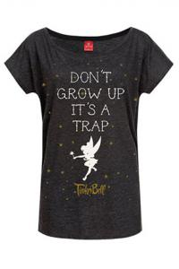 Tinker Bell Ladies T-Shirt Don't Grow Up