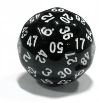 Tärning D60 - 60-sided dice