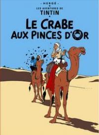 Affisch - Le Crabe aux Pinces D'or