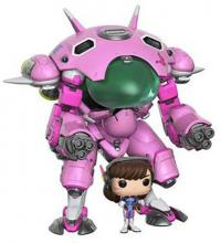 Overwatch Meka with D.VA Super Sized Pop! Vinyl Figure