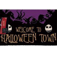 Nightmare Before Christmas Halloween Town Doormat