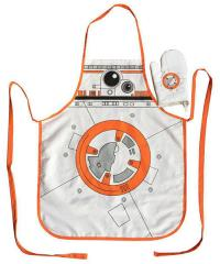 Cooking Apron with Oven Mitt BB-8