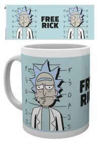Rick and Morty Mug Free Rick